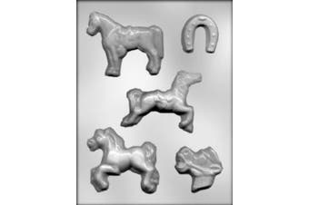 CK Products Horse Assortment Chocolate Mould