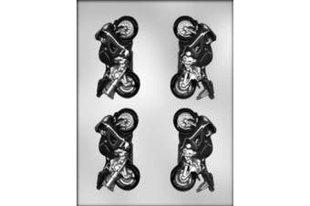 CK Products 9.8cm 3-D Motorcycle Chocolate Mould