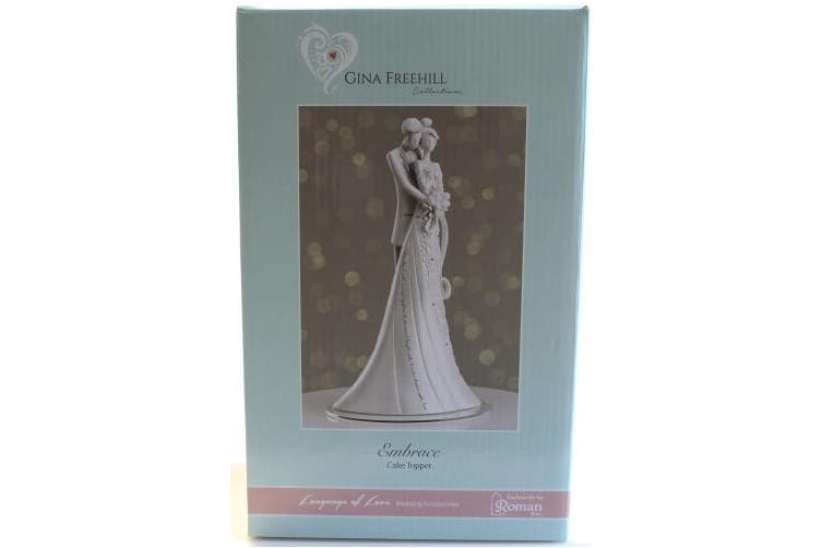 Roman Wedding Cake Topper Figurine 22.9cm Embrace