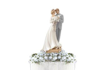 "Enesco Legacy of Love Wedding Collection, ""Wedding Couple"", Cake Topper4"