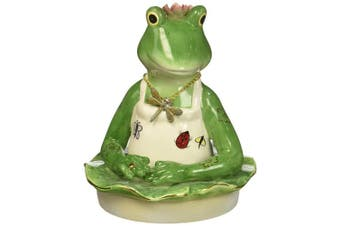 ATD 30125 11cm Jar with Frog Chef Themed Top Decoration