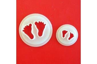 FMM Sugarcraft Baby Feet Cutter Set