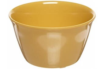 (240ml Bouillon Cup, Honey Yellow) - Carlisle 4386822 Dayton Melamine Bouillon Cup, 240ml, Honey Yellow (Set of 24)