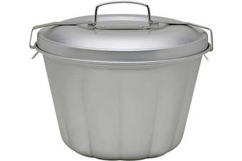 (Steamed Pudding Mold) - Mrs. Anderson's Baking 43715 Non-Stick Steamed Pudding Mould with Lid, 1.6-Litres