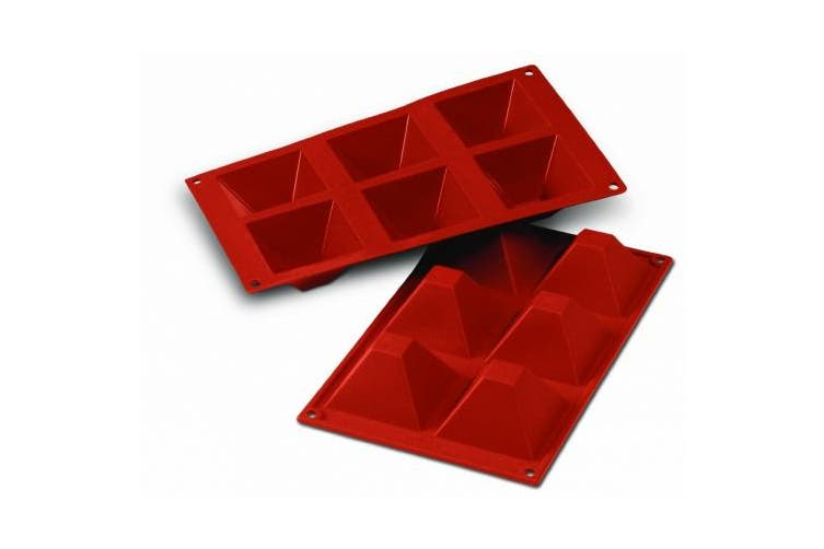 Silikomart SF007/C Silicone Classic Collection Mould Shapes, Pyramid, Large