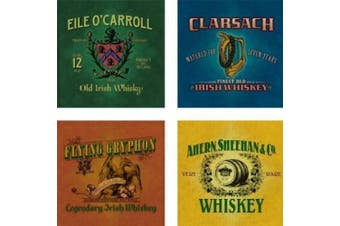 Irish Whiskey Absorbent Coasters