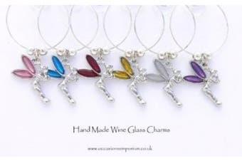 Fairy Wine Glass Charms