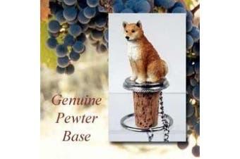Shiba Inu Wine Bottle Stopper DTB96