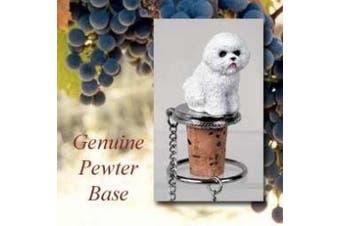 Bichon Frise Wine Bottle Stopper