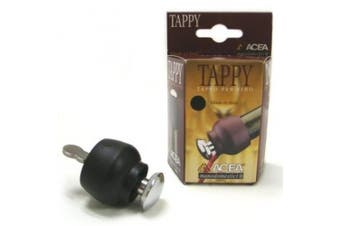 Black Tappy Wine Stopper and Pourer by Acea