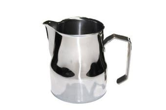 (A, 500ml) - Motta Imported Italian Espresso Milk Steaming Pitcher - 470ml - Milk Frothing Pitcher
