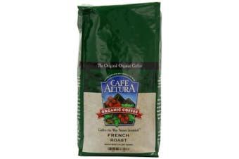 Cafe Altura Organic Coffee, French Roast, Whole Bean, 950ml Bags