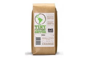 Tiny Footprint Organic Peru APU Medium Roast Coffee, Ground, 0.45kg