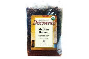 First Colony Organic Whole Bean Coffee, Mexican Harvest, 710ml