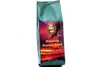 Aloha Island Kona Hawaiian Organic Hazelnut Flavoured Coffee 240ml Whole Bean