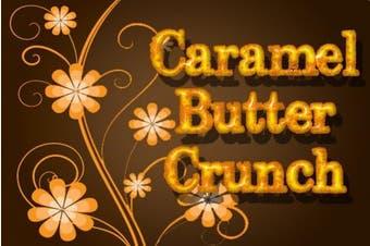 Caramel Butter Crunch, Ground Flavoured Coffee, 350ml Bag