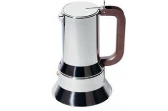 Alessi Richard Sapper 9090/M Stovetop Espresso Coffee Maker 10 Cup