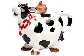 Appletree Design Barn Yard Cow Teapot, 17.1cm