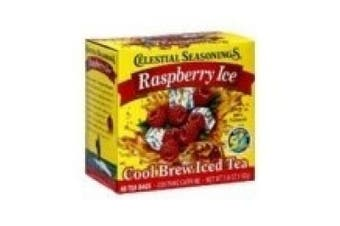 Celestial Seasonings Tea Cool Brew Iced Tea, Raspberry Ice 40 ea