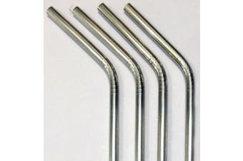 Reusable Straws - Stainless Steel Drinking - Set of 16 + 4 Cleaners - Eco Friendly, SAFE, NON-TOXIC non-plastic