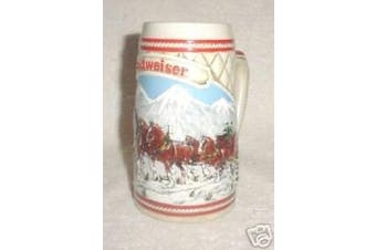 Budweiser 1985 A Series Snow Capped Mountains Stein