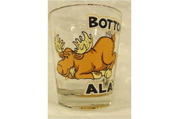 Alaskan Bottoms Up Clear Shot Glass (1 oz.)