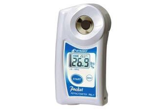 Atago 3810 PAL-1 Digital Hand-Held Pocket Refractometer, Brix 0.0 to 53.0%