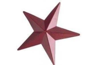 Red Star Napkin Ring