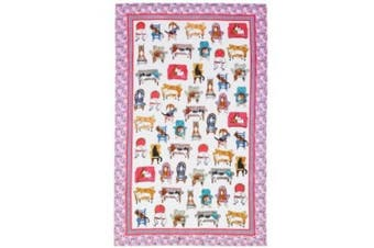 Lounge Cats Tea Towel