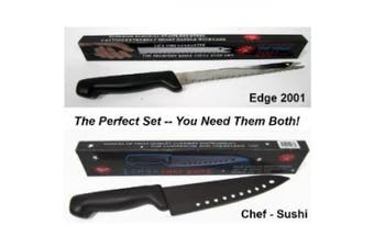 Edge 2001 and Chef Knife - As Seen on Tv