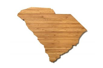 (South Carolina) - AHeirloom State of South Carolina Cutting Board