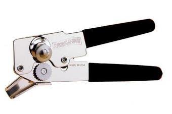 (Black) - Amco Swing-A-Way 107BK Compact Can Opener, Black