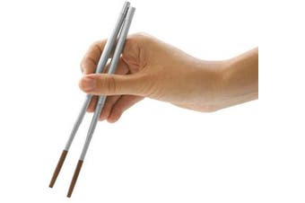 (Travel) - Kikkerland Collapsible Travel Chopsticks