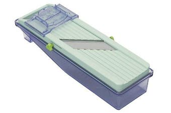 (Old Version, Green Slicer w/ Tray) - Vegetable Slicer Plastic Tray (Old Version)