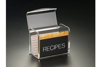 Recipe Box W/O Cards (Acrylic)