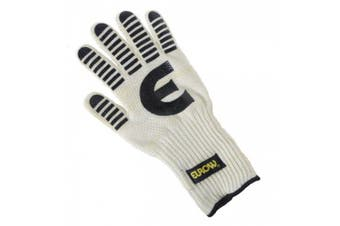 Eurow Heat and Flame Resistant Silicone Oven Glove - 33cm