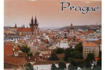 Prague Czech Republic Fridge Collector's Souvenir Magnet 6.4cm X 8.9cm
