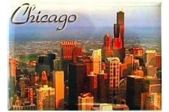 Chicago Magnet - Skyline, Chicago Magnets, Chicago Souvenirs, Chicago Souvenir