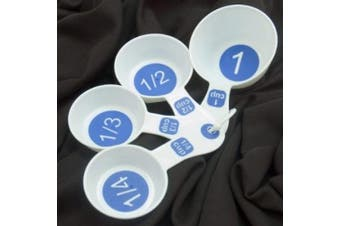 Measuring Cups with Large Print Set of 4