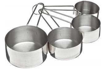 (1, classic) - Adcraft DMC-4 4 Piece Stainless Steel Deluxe Measuring Cup Set
