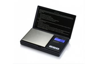 (1, Black) - American Weigh Scales AWS-1KG-BLK 9. 9 x 14. 6 x 2. 5 cm Signature Series Black AWS-1KG Digital Pocket Scale 1000 by 0. 1 G