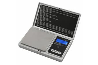 (1, Silver) - AWS Signature Series Silver AWS-100 Digital Pocket Scale, 100 by 0.01 Grammes
