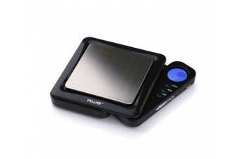(Black) - American Weigh Black Blade Digital Pocket Scale, 100 by 0.01 G