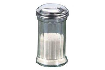 (SAN Plastic shaker with Sugar top) - American Metalcraft SAN316 Plastic Sugar Shaker with Lid, 350ml