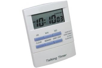 Tel Timer Digital Talking Countdown Timer