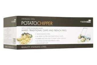 (Potato Chipper) - Master Class Potato Chipper, Stainless Steel