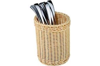Paderno World Cuisine Polyrattan Flatware/Breadstick Basket