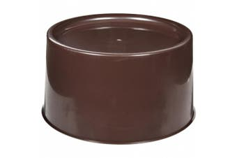 Carlisle 221101 Brown 31cm Round Dispenser
