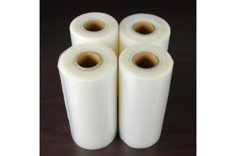 4 Large 20.3cm x 50' Vacuum Sealer Rolls Commercial Grade Food Saver Sealer Bags