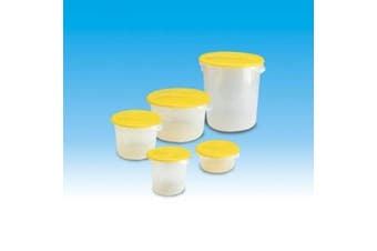 (11.4l., Lid, Yellow) - Rubbermaid Commercial Lid (Lid Only)for Round Food Storage Container, Fits 11.4l. Containers, Yellow (FG573000YEL)